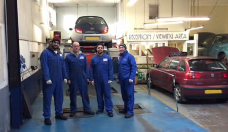 Our Team at Brighton MOT Centre Ltd.